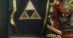 TP Ganondorf's Triforce