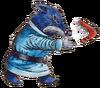 LoZ Goriya(Blue) Artwork