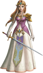 TPHD Zelda Artwork