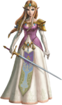 TPHD Zelda Artwork