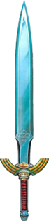 ALttP Master Sword Artwork
