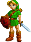 OoT Young Link Artwork