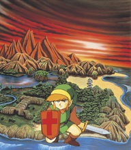 TLoZ Link Before Hyrule Artwork