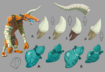 BotW Moblin Materials Concept Artwork
