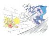 LoZ Link & Blue Darknut Artwork01