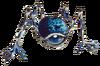 TLoZ Tektite(Blue) Artwork