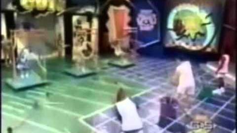 Nickelodeon All-Star Challenge Game 1 (Blue vs. Yellow vs