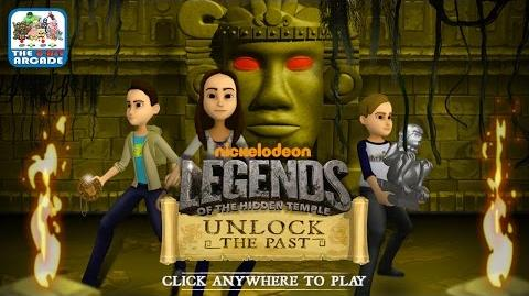 Legends of the Hidden Temple Unlock The Past - Join Sadie, Noah & Dudley (Nickelodeon Games)