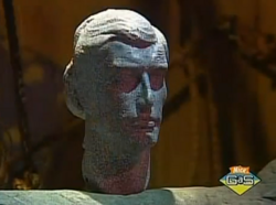 Stone Head of the Evil King