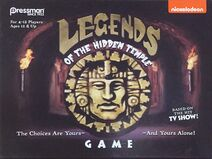 Legends of the Hidden Temple Board Game Box Cover