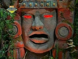 Legends of the Hidden Temple Applewood Amulet of Emiliano Zapata