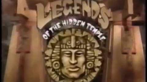 Legends of the Hidden Temple Promo- Adventure (1993)