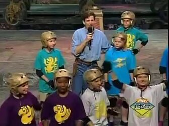 Legends of the Hidden Temple Lost Lion Tail of Little John