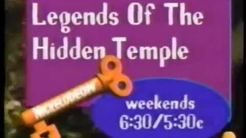 Legends Of The Hidden Temple Promo- Physical & Mental (1993)