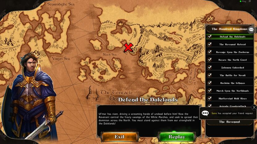 Defend The Dalelands Map