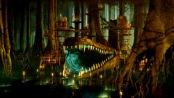 TV Croc Swamp Hideout