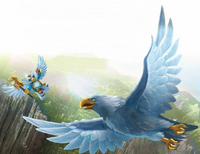 Eris and Eagle Legend Beast Art