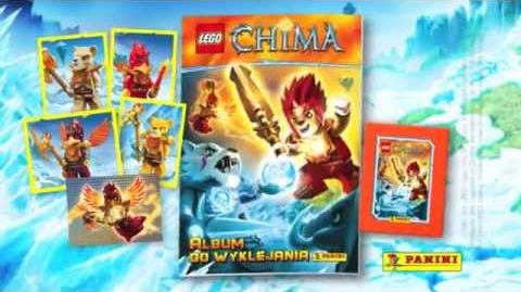 LEGO CHIMA - Panini Sticker collection - tv spot Poland