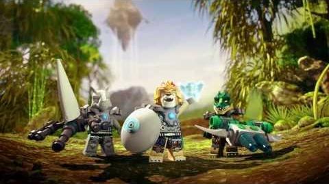 LEGO Chima - reklama TV prezentująca nowe zestawy 70131 Miotacz skał Rogona oraz 70132 Żądło Scorma