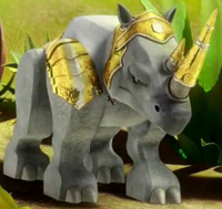 Rhino Legend Beast in armor