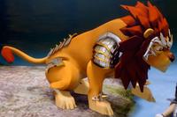 Lion Legend Beast in armor