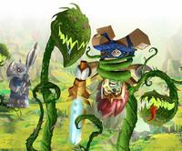 Laval and Rogon vs Predator Plants Art