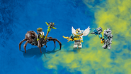 70133 Spinlyn's Cavern Minifigures