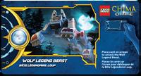 Wolf Legend Beast Power Game Card