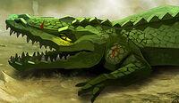 Crocodile Legend Beast Art