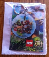 6031642 Key Chain and Mini Poster