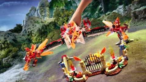 LEGO Chima reklama TV Lodowa machina Maula i Świątynia Feniksa-0