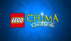 LEGO Legends of Chima Online 2014 Title Screen