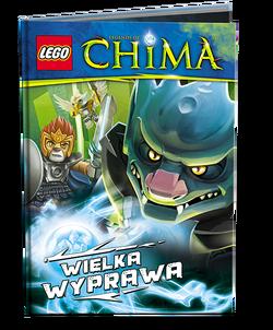 LEGO Legends of Chima Wielka wyprawa