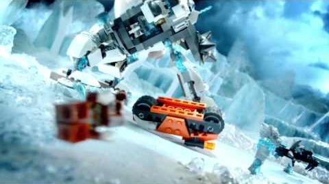 LEGO Chima - 70223 Niszczyciel Icebite'a, 70224 Lotny oddział Tigera