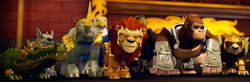 Legend Beasts in armor