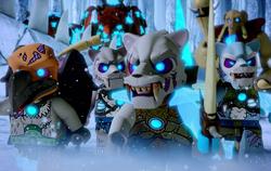 Ice Hunters close up