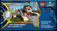 Lion Legend Beast Power Game Card