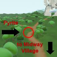 Pyrite located