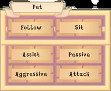 OAR Pet GUI