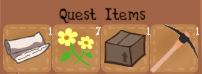 Quest Items Inventory