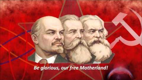 Hymn of the USSR - Red Army Choir (English Sub