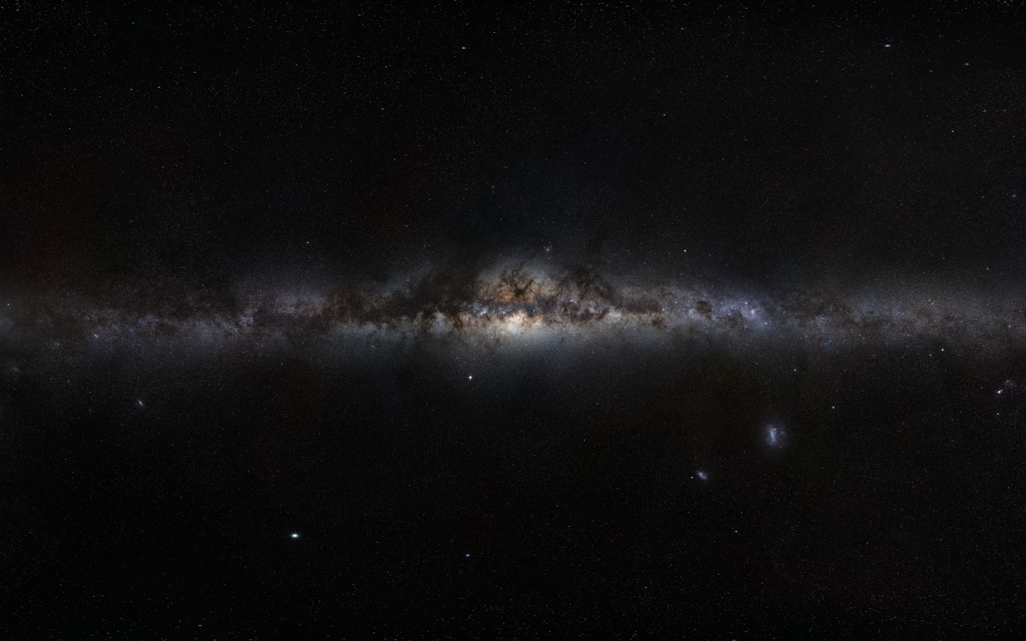 Dark Galaxy Desktop Background