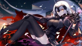 Jeanne alter and ruler fate grand order and fate series drawn by bison cangshu sample-00d36e57d1ad5b9d89a7920a74afaf43