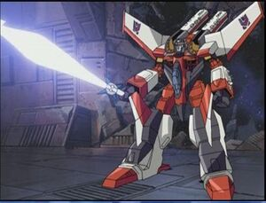 Starscream ready star saber