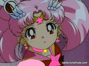 Sailor mini moon concerned eternal