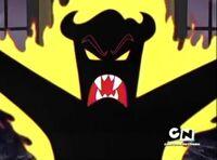 Father devil mouth