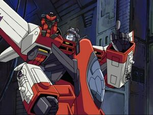 Starscream and swindle