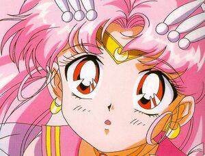 Sailor mini moon wondering