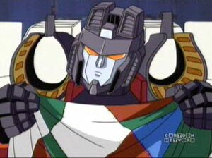 Starscream with cloth
