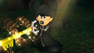 Mickey ready keyblade